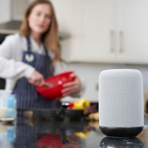 using smart speakers to engage with their customers