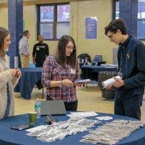 C+R Guides Future Market Researchers at High School Career Fair