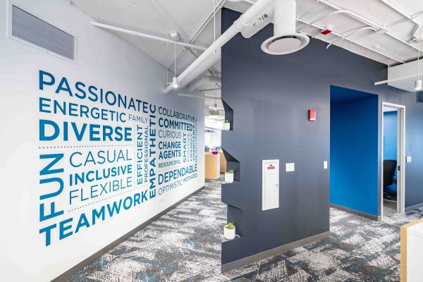 C+R Research Office Interior Voted Best Chicago Workplace